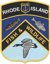 Rhode Island Division of Fish and Wildlife Logo